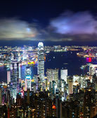 Hong Kong City Night — Stock Photo