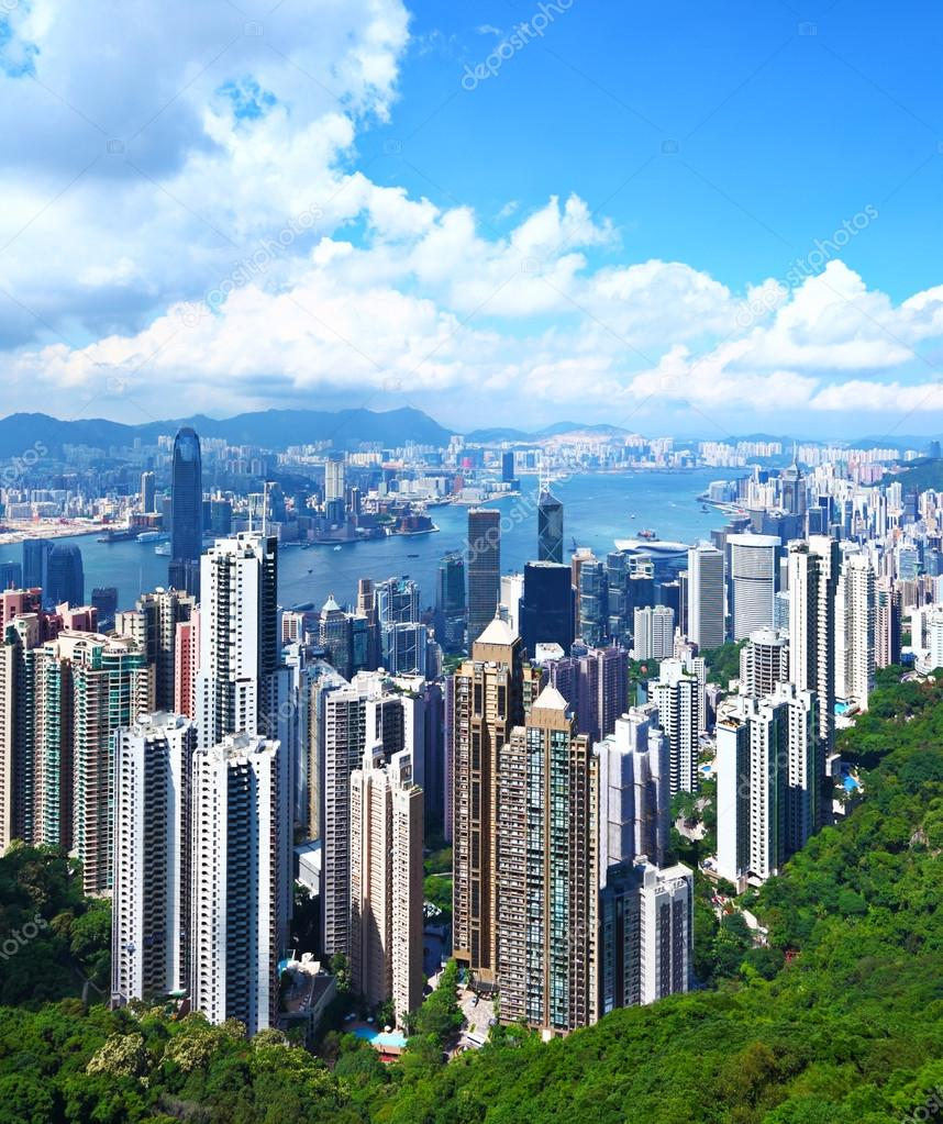 Hong Kong Skyline — Stock Photo #13562635