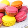 Colorful French macaroons - Stock fotografie