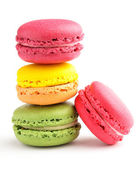 Tasty colorful macaroon — Stock Photo