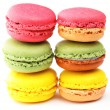 Colorful macaroon — 图库照片