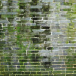 Chinese old bricks wall - Stock Photo