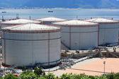 Oil tank — Stock Photo