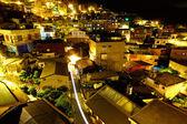 台湾の夜に、chiu フェン村 — ストック写真
