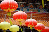 Lantern in chinese temple — Stockfoto