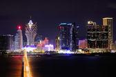 Macau at night — Stock Photo