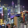 Stock Photo: Hong Kong night