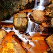 Stock Photo: Golden Waterfall