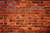 Old red brick wall texture — Stock Photo
