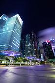 Ciudad de singapur al atardecer — Foto de Stock