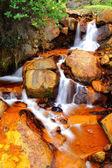Golden Waterfall — Stock Photo