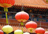 Rows Of Chinese Lantern — Foto Stock