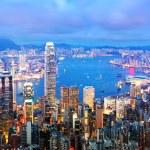 Hong kong på natten — Stockfoto #13995814