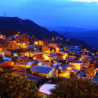 Jiu fen village at night, in Taiwan — Stock Photo #18016051