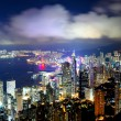 Hong Kong night scene — Stock Photo #18016259