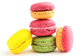 Colorful Macaron in close up — Stock Photo
