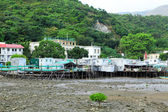 Fishing village Tai O in Hong Kong — Foto Stock