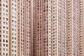 Hong kong affollato condominio — Foto Stock