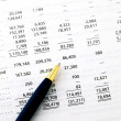 Accounting financial data — Stock Photo