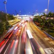 Traffic jam at night — Stock Photo #22298557