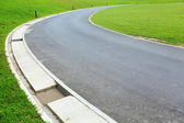 Path in golf course — Stock Photo