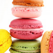 Macaroon close-up — Stock Photo