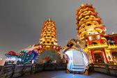 Dragon Tiger Tower in Taiwan — Stock Photo