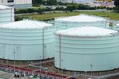 Нефтяная цистерна — Стоковое фото