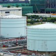 Stock Photo: Storage tanks