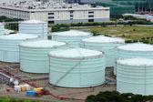 Oil storage tank — Stock Photo