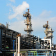Gas industry plant - Stock Photo