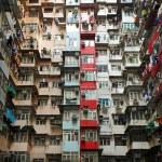 Old apartments in Hong Kong — Stock Photo #23127360