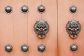 Chinese style door — Stock Photo