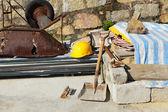 Equipos de construcción — Foto de Stock