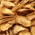 Herbal , dry burdock root — Stock Photo #23473154