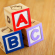 ABC Block — Foto de Stock