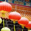 Rows Of Chinese Lantern — Stock Photo #24137253