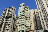 Apartamento antigo em hong kong — Fotografia Stock