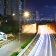 Road in city at night — Stock Photo #24601395