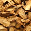 Herbal , dry burdock root — Stock Photo #24629021