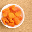 Dried apricots — Stock Photo #24874697