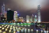 香港城市夜景 — 图库照片