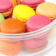 Stock Photo: Colorful macaroons in bowl