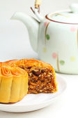Chinese mooncake — Stok fotoğraf