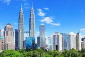 吉隆坡天际线 — 图库照片