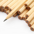 Stock Photo: Pencil on white background
