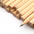Heap of pencil with one sharpen — Stock Photo #25716771