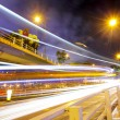 Stock Photo: Night traffic in city