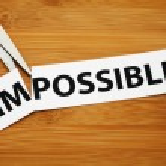 Постер, плакат: Impossible or possible
