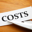 Cutting cost — Stock Photo